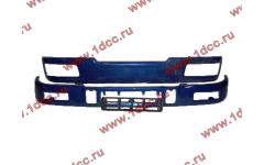 Бампер C синий верхний+нижний (в сборе) фото Вологда